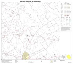 Primary view of object titled '2010 Census County Block Map: Bosque County, Block 8'.