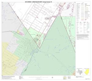 Primary view of object titled '2010 Census County Block Map: Aransas County, Block 11'.