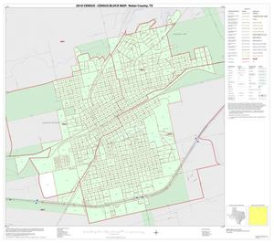 Primary view of object titled '2010 Census County Block Map: Nolan County, Inset B01'.