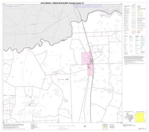 Primary view of object titled '2010 Census County Block Map: Kenedy County, Block 2'.