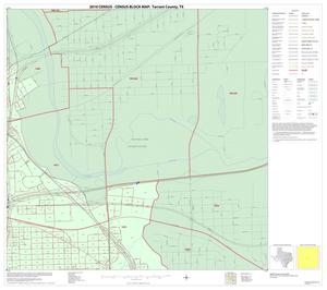 Primary view of object titled '2010 Census County Block Map: Tarrant County, Inset G02'.