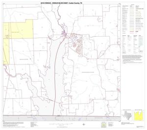 Primary view of object titled '2010 Census County Block Map: Cooke County, Block 26'.