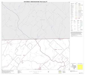 Primary view of object titled '2010 Census County Block Map: Wise County, Block 4'.