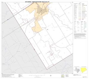 Primary view of object titled '2010 Census County Block Map: Ellis County, Block 34'.