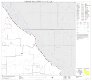 Primary view of object titled '2010 Census County Block Map: Hardeman County, Block 3'.