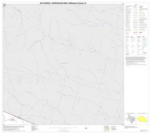 Primary view of object titled '2010 Census County Block Map: Williamson County, Block 5'.