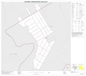 Primary view of object titled '2010 Census County Block Map: Hill County, Inset F01'.