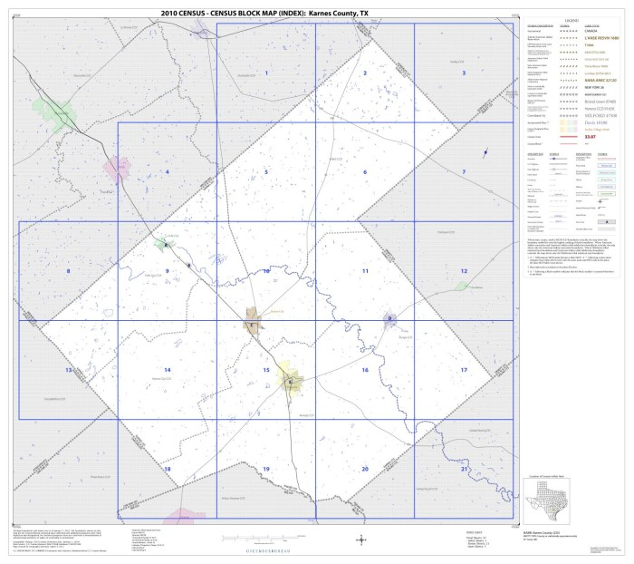 2010 Census County Block Map: Karnes County, Index - The ... on map of dimmit county texas, cities in karnes county texas, political map of texas,