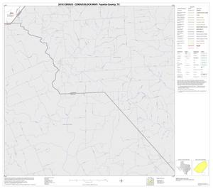 Primary view of object titled '2010 Census County Block Map: Fayette County, Block 20'.