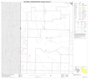 Primary view of object titled '2010 Census County Block Map: Hardeman County, Block 2'.