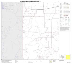 Primary view of object titled '2010 Census County Block Map: Medina County, Block 16'.