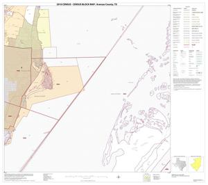 Primary view of object titled '2010 Census County Block Map: Aransas County, Block 9'.