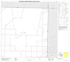 Primary view of object titled '2010 Census County Block Map: Yoakum County, Block 3'.