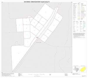 Primary view of object titled '2010 Census County Block Map: Fayette County, Inset D01'.