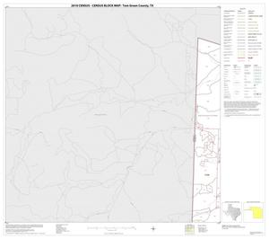 Primary view of object titled '2010 Census County Block Map: Tom Green County, Block 1'.