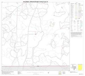 Primary view of object titled '2010 Census County Block Map: Sterling County, Block 8'.