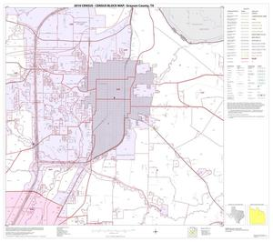 Primary view of object titled '2010 Census County Block Map: Grayson County, Block 10'.
