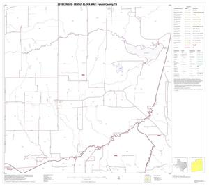 Primary view of object titled '2010 Census County Block Map: Fannin County, Block 6'.