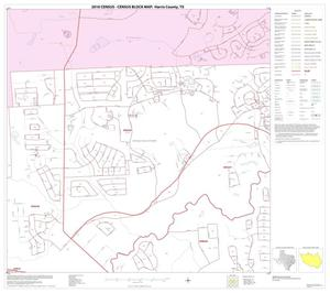 Primary view of object titled '2010 Census County Block Map: Harris County, Block 13'.