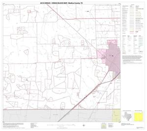 Primary view of object titled '2010 Census County Block Map: Medina County, Block 24'.