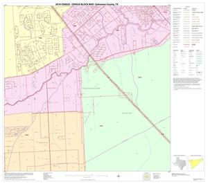 Primary view of object titled '2010 Census County Block Map: Galveston County, Block 24'.