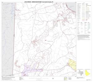Primary view of object titled '2010 Census County Block Map: San Jacinto County, Block 2'.