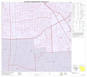 Primary view of object titled '2010 Census County Block Map: Smith County, Inset B07'.