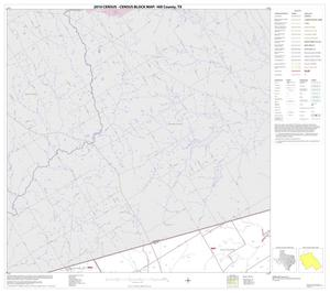 Primary view of object titled '2010 Census County Block Map: Hill County, Block 1'.
