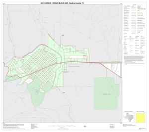 Primary view of object titled '2010 Census County Block Map: Medina County, Inset D01'.