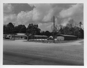 Primary view of object titled '[Siesta Motel on MacArthur Drive in the 1950s]'.