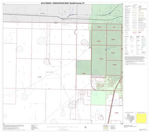 Primary view of object titled '2010 Census County Block Map: Randall County, Block 2'.