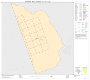 Primary view of object titled '2010 Census County Block Map: Zapata County, Inset H01'.