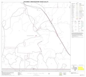 Primary view of object titled '2010 Census County Block Map: Kimble County, Block 20'.