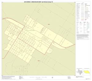 Primary view of object titled '2010 Census County Block Map: San Patricio County, Inset J01'.
