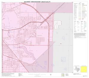 Primary view of object titled '2010 Census County Block Map: Lubbock County, Inset C05'.