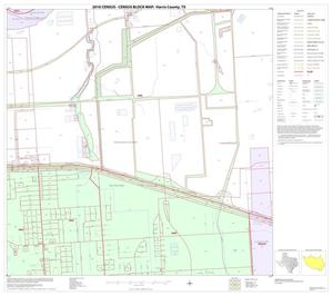 Primary view of object titled '2010 Census County Block Map: Harris County, Block 224'.