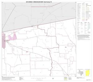 Primary view of object titled '2010 Census County Block Map: Hunt County, Block 3'.