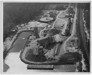 Primary view of object titled '[Aerial View of Texas Portland Cement Company]'.