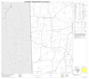 Primary view of object titled '2010 Census County Block Map: Lamar County, Block 10'.