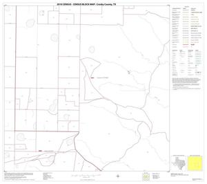 Primary view of object titled '2010 Census County Block Map: Crosby County, Block 11'.