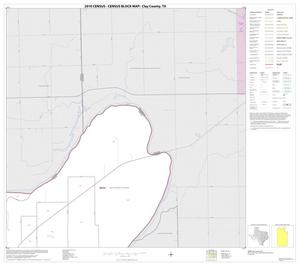 Primary view of object titled '2010 Census County Block Map: Clay County, Block 3'.