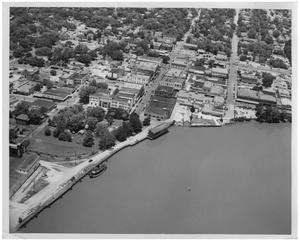 [Aerial View of Orange, Texas]