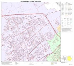 Primary view of object titled '2010 Census County Block Map: Bexar County, Block 18'.