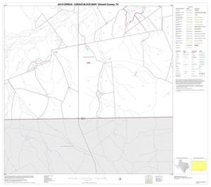 Primary view of object titled '2010 Census County Block Map: Dimmit County, Block 19'.