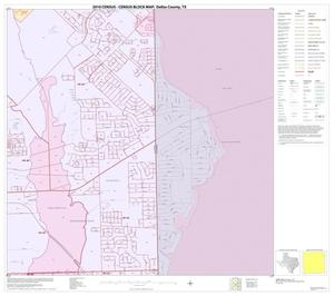 Primary view of object titled '2010 Census County Block Map: Dallas County, Block 18'.