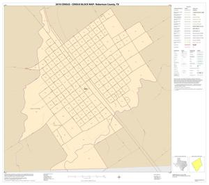 Primary view of object titled '2010 Census County Block Map: Robertson County, Inset B01'.