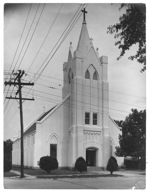 Primary view of object titled '[St. Mary's Catholic Church]'.