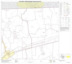 Primary view of object titled '2010 Census County Block Map: Henderson County, Block 7'.