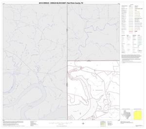 Primary view of object titled '2010 Census County Block Map: Palo Pinto County, Block 1'.