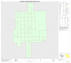 Primary view of object titled '2010 Census County Block Map: Webb County, Inset G01'.